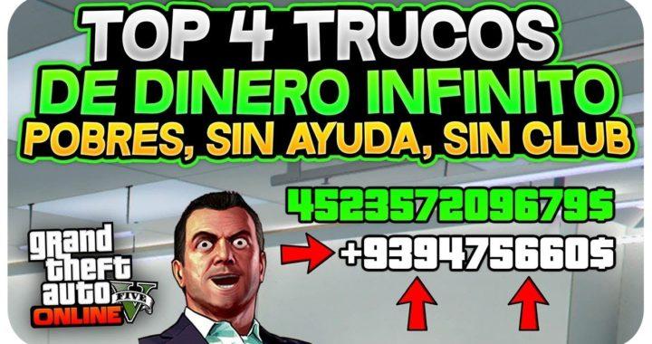 CORRE! TOP 4 TRUCOS DINERO INFINITO! (SIN AYUDA, SIN CLUB,SIN INSTALACIONES) *PARA POBRES* 1.44