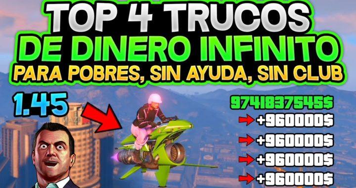 CORRE! TOP 4 TRUCOS DINERO INFINITO! (SIN AYUDA, SIN CLUB,SIN INSTALACIONES) *PARA POBRES* 1.45