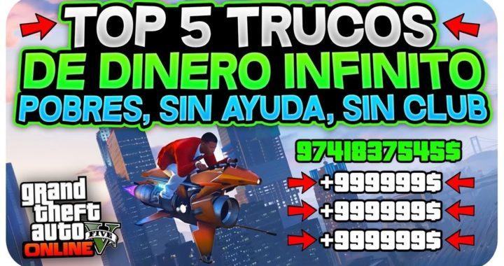 CORRE! TOP 5 TRUCOS DINERO INFINITO! (SIN AYUDA, SIN CLUB,SIN INSTALACIONES) *PARA POBRES* 1.45