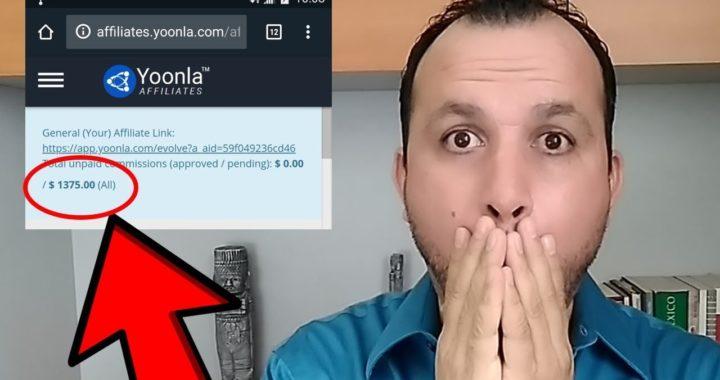 CUANTO GANE EN ESTE MES CON YOONLA | Como Ganar Dinero Online 2018