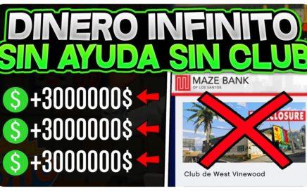DATE PRISA! *SIN CLUB SIN AYUDA* +4.000.000$ TRUCAZO! (FÁCIL Y RÁPIDO) DINERO INFINITO 1.45