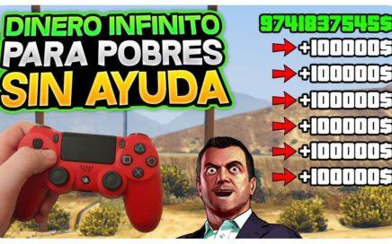 *DINERO INFINITO PARA POBRES Y SIN AYUDA* +200.000 EN 20 MIN! GTA 5 DINERO INFINITO 1.45