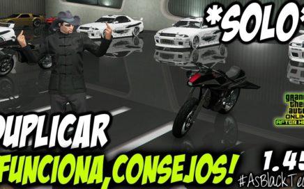 DUPLICAR COCHES - *SOLO - SIN AYUDA* - GTA V - CONSEJOS - DINERO FÁCIL - (PS4 - XBOX One)