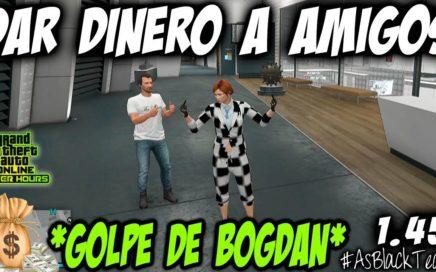 EL MEJOR TRUCO PARA POBRES - GANAR DINERO FACIL GTA V - DAR 1.000.000$ a AMIGOS - (PS4 - XBOX One)