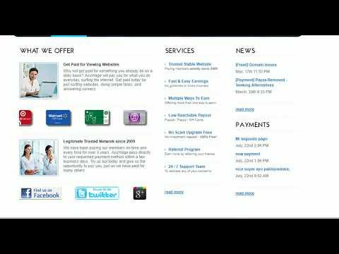 Excelente página para ganar dinero online, 2$ al día