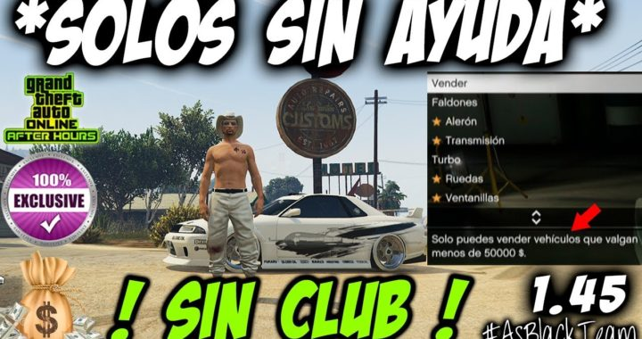*EXCLUSIVO* - SIN CLUB - SIN AYUDA -  DUPLICAR COCHES - GTA V 1.45 - DOS TRUCOS EN UNO - (PS4 - XB1)