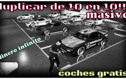 *  FUNCIONANDO *DUPLICAR 10 COCHES MASIVO - GTA 5 ONLINE  - COCHES GRATIS !!! (DINERO INFINITO)