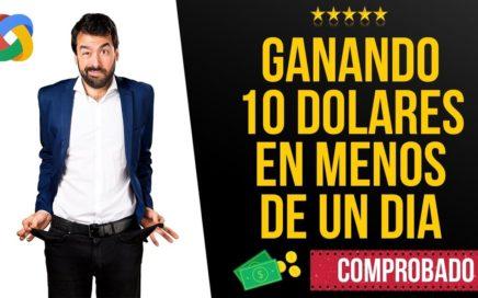 GANA $10 DOLARES EN UN DIA POR PAYPAL 2018  COMO GANAR DINERO POR INTERNET COMPROBADO