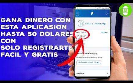 GANA $50 REGISTRANDOTE APP PARA GANAR DINERO | PAYPAL | Andro Tech
