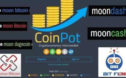 Gana Dinero a Diario Por Internet Con Coinpot - Faucet Moon