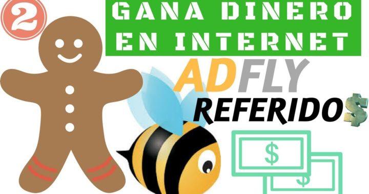 Gana dinero con AdFly - Sistema de Referidos