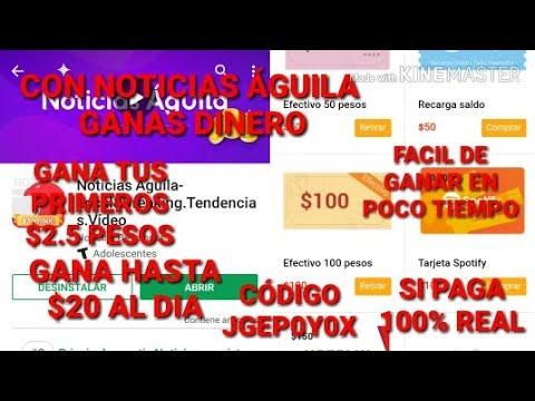 GANA DINERO CON NOTICIAS ÁGUILA|SI PAGA||100%REAL|