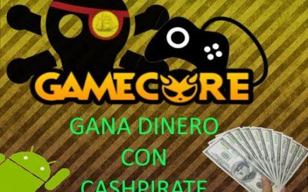 Gana dinero con tu android Facil Rapido y Seguro con CashPirate 2018