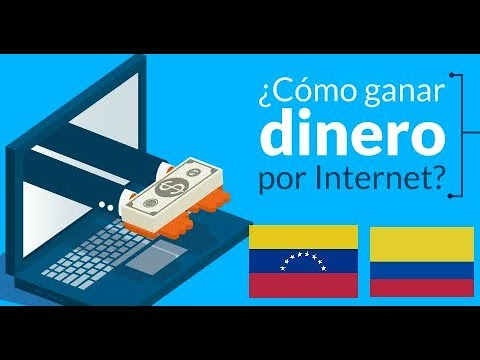 GANA DINERO DESDE VENEZUELA, COLOMBIA Y OTROS PAISES POR INTERNET!