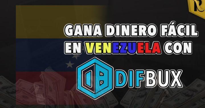 Gana dinero (dólares) por internet con Difbux desde Venezuela