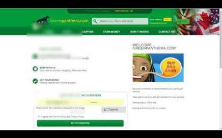 Gana dinero fácil a Paypal con Greenpanthera 2018.