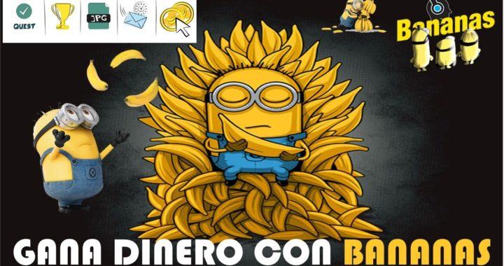 Gana dinero jugando varios juegos online :D | Acumulando Bananas | Dinero Jugando