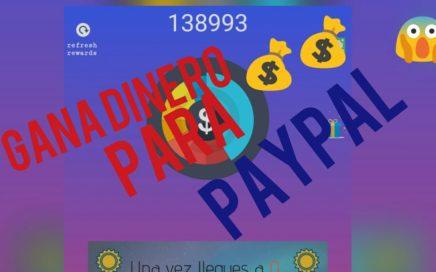 ¡¡ Gana dinero para PayPal dando click por  hora 5$ dólares !! Super app 2018