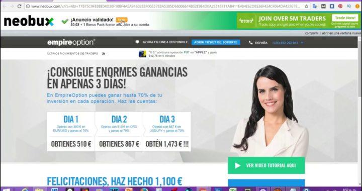 Gana Dinero Por Internet 30 Dolares Diarios(La Mejor Pagina)