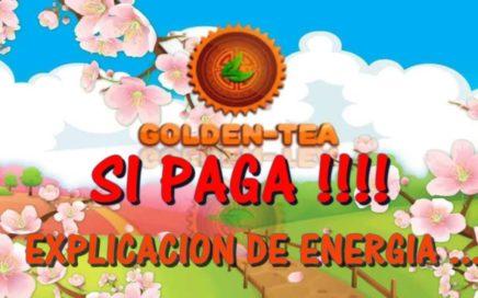 GANA $DINERO POR INTERNET [$55 DOLARES!!] GOLDEN TEA ENERGÍA EXPLICACIÓN