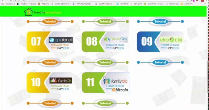 Gana dinero Trabajando en FamilyClix y FamilyBtc