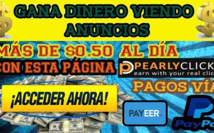 Gana Dinero Viendo Anuncios | Nueva PTC 2018 | Hasta $0.50 Al Día + Membresía Golden