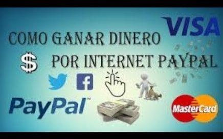 GANA HASTA MAS DE $20 DOLARES EN UN MES FACIL Y MUY RAPIDO 2018