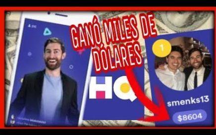 GANA MILES DE DÓLARES CON UNA APLICACIÓN ANDROID / iOS - (HQ Trivia)