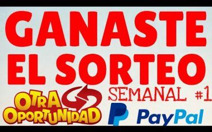 Ganador del Sorteo Semanal Regalando Dinero por  paypal y payeer  para mis Subs! #SorteoSeAmadroid