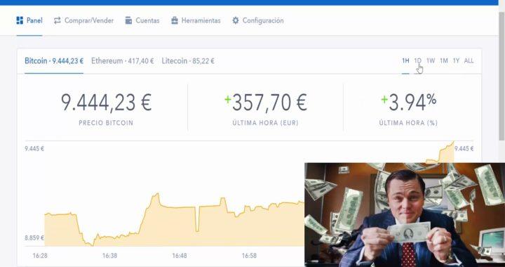 GANAR dinero con Bitcoin y Coinbase. Aquí te explico como va.