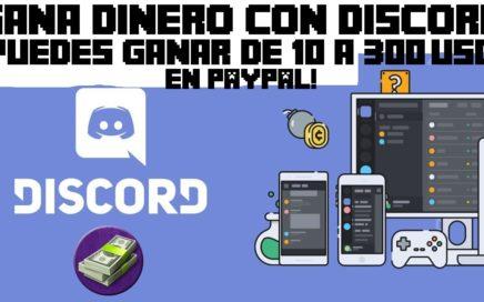GANAR DINERO EN PAYPAL CON DISCORD 2018 | De 10 a 250 USD en 15 Minutos