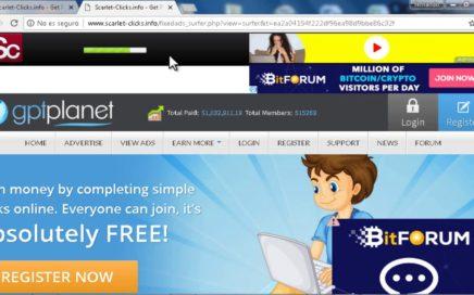 Ganar dinero por Internet viendo anuncios  PTC en Venezuela