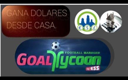Goal Tycoon juega futbol en linea, Ganando dinero en casa | Derrota la crisis.