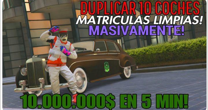 GTA 5 ONLINE 1.44 DUPLICAR 10 COCHES MASIVAMENTE EN 5 MINUTOS! [10 MILLONES EN COCHES!]