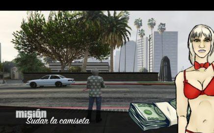 GTA 5 ONLINE MISION PARA GANAR DINERO FACIL - SUDAR LA CAMISETA