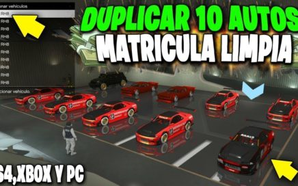 GTA 5 ONLINE - TRUCO DE DINERO DUPLICAR AUTOS *MASIVO* GTA V  1.45 (PS4 - XBOX One - PC)