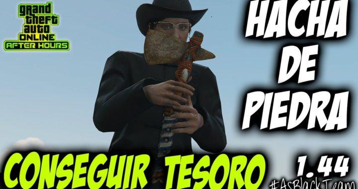 HACHUELA DE PIEDRA - AVENTURA CONSEGUIR TESORO DESAFIO - GTA 5 - STONE HATCHET - PASOS y 250.000$