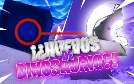 """HAY HUEVOS DE DINOSAURIOS EN FORTNITE! JUGANDO CON SUBS """"SORTEO PAVOS"""""""
