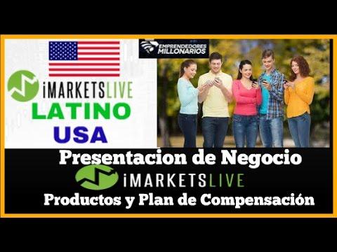 iMarketsLive Presetacion de Negocio y Plan de Compensacion 2017 | FOREX | Ganar Dinero Online