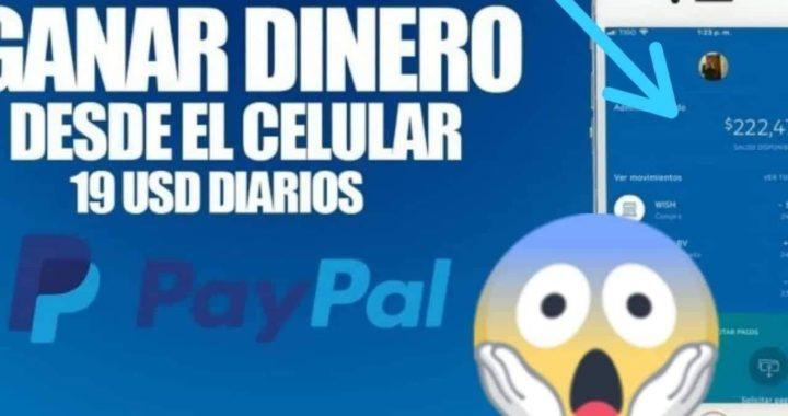 INCREÍBLE APP PARA GANAR 10 DOLARES DIARIOS EN PAYPAL/Ganar Dinero en PayPal Brutalmente 2018