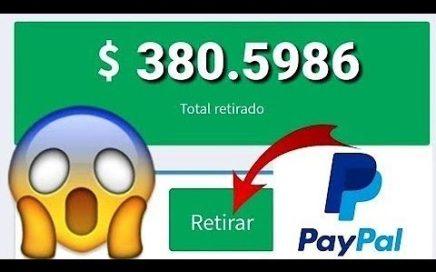 INCREÍBLE APP PARA GANAR 16 DÓLARES DIARIOS/Ganar Dinero en PayPal Brutalmente 2018
