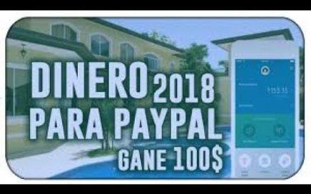 ¡INCREÍBLE! ME PAGARON 100$ EN 1 DIA  COMO GANAR DINERO EN PAYPAL COMPROBANTE DE PAGO