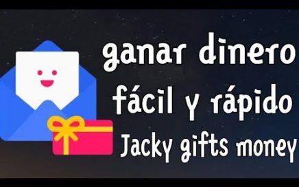 Jacky Gifts Money-gana dinero con esta aplicacion facil y rapido