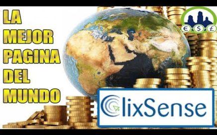 La MEJOR pagina del MUNDO para conseguir DINERO GRATIS por INTERNET | ClixSense | Derrota la Crisis