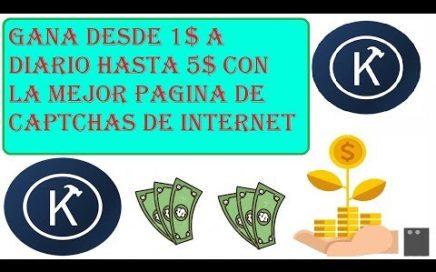 La Mejor Pagina Para Ganar Dinero Por Internet | Gana desde 1$ hasta 5$ diarios Kolotibablo