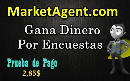 Marketagent - Gana Dinero Por Encuestas - Prueba de Pago 2.8$ | 1.5$ Por Registro