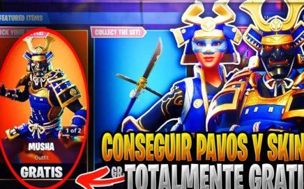 METODO DE CONSEGUIR PAVOS Y SKINS TOTALMENTE GRATIS EN EL FORTNITE BATTLE ROYALE !FACIL Y RAPIDO!