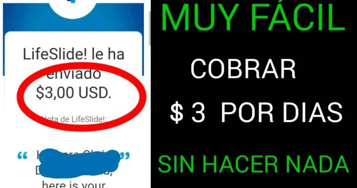 MUY FACIL COBRAR $3 POR DIAS SIN HACER NADA/más dinero para PayPal 2018