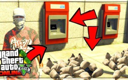NO ME LO CREO! COMO CONSEGUIR ROBAR BANCOS EN GTA 5 ONLINE! MILLONARIO EN SEGUNDOS!!