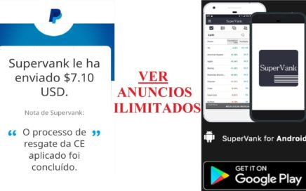 """Nueva APP para ganar dinero viendo anuncios ilimitados -PAYPAL- """"prueba de pago"""""""
